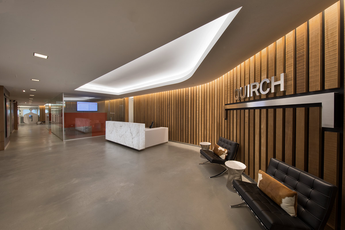 MIF Interior Design Photography Of Quirch Foods Headquarters