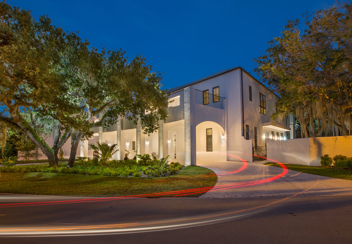 Miami In Focus Photo Gallery Of Ibis House The UM Presidents Home In ...